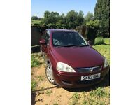 Vauxhall Corsa Design 1.2 16v, very tidy little car, low mileage, 3 owners, £1000
