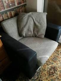 Single seat sofa.