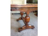 Vintage quality extendable table