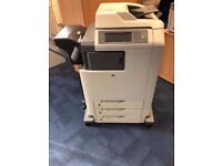 HP 4730 MFP Printer / Photocopier Used + Toners + Stapler