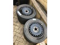 Winter Tyres & Steel Wheels