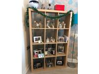 Box shelves oak colour