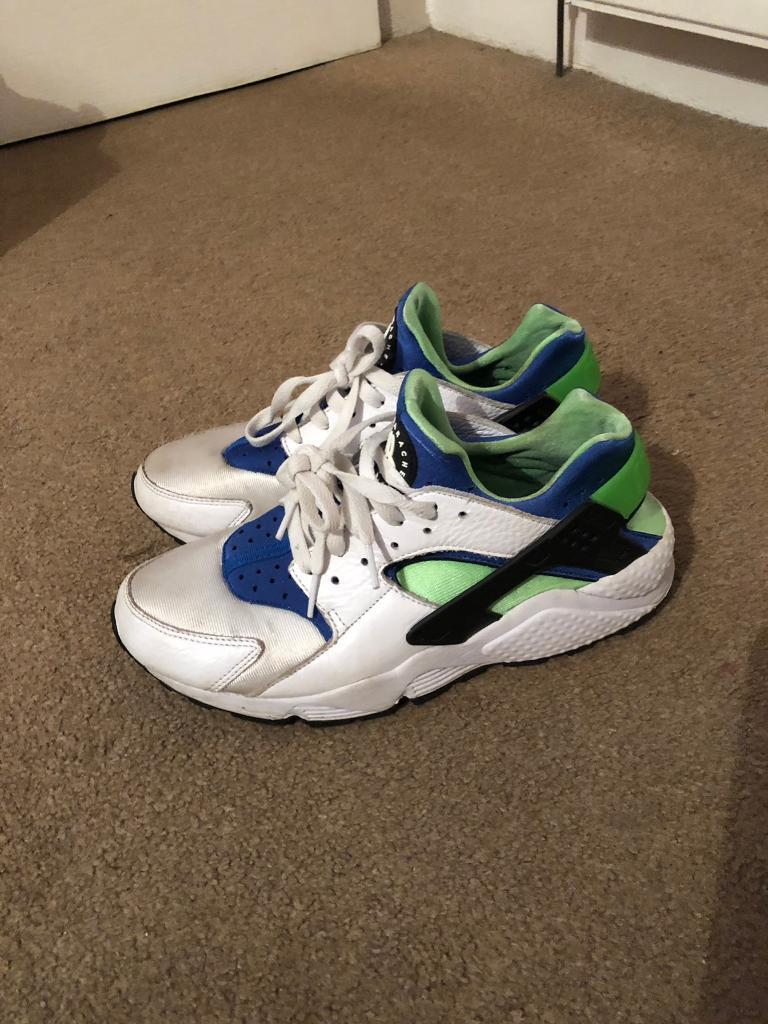e31d10eb98bb ... coupon for nike air huarache og scream green rare size 8 uk 30 0997a  95063