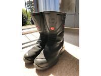 Hein Gericke goretex hiprotec motorcycle boots