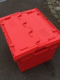 Very large Storage Boxes/Crates 170 L Excellent Condition