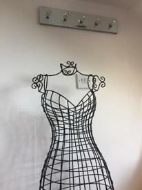 Beautiful sturdy wire mannequin