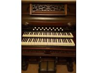 Antique Dominion orchestral organ for sale.