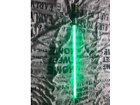 Star Wars Yoda lightsaber model sfx
