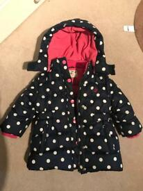 JoJo Maman Bebe Girls jacket