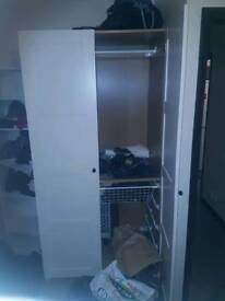 Wardrobe with 4 draws