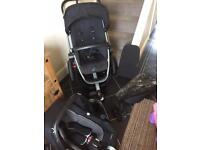 Quinny pushchair and maxi cosi car seat