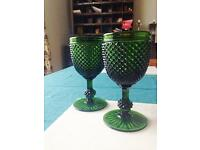Wine glasses - vintage goblets