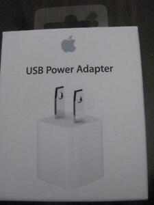 Apple 5W USB Power Adaptor. Charger. Iphone 5S / 6S Plus. Iphone 7. Ipad Air Mini. Ipod nano. Apple Watch. Compact. NEW