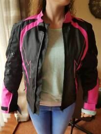 Women's jacket, motorbike, motorcycle jacket size large