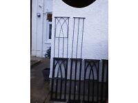 Steel fencing panels