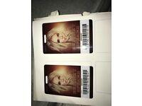 2 x Britney tickets **Fri 17th Aug** Scarborough £66.00 each