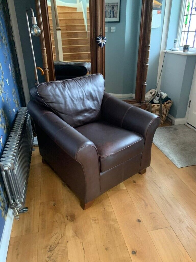 Marks and Spencer's Abbey Leather armchair | in Leigh-on ...