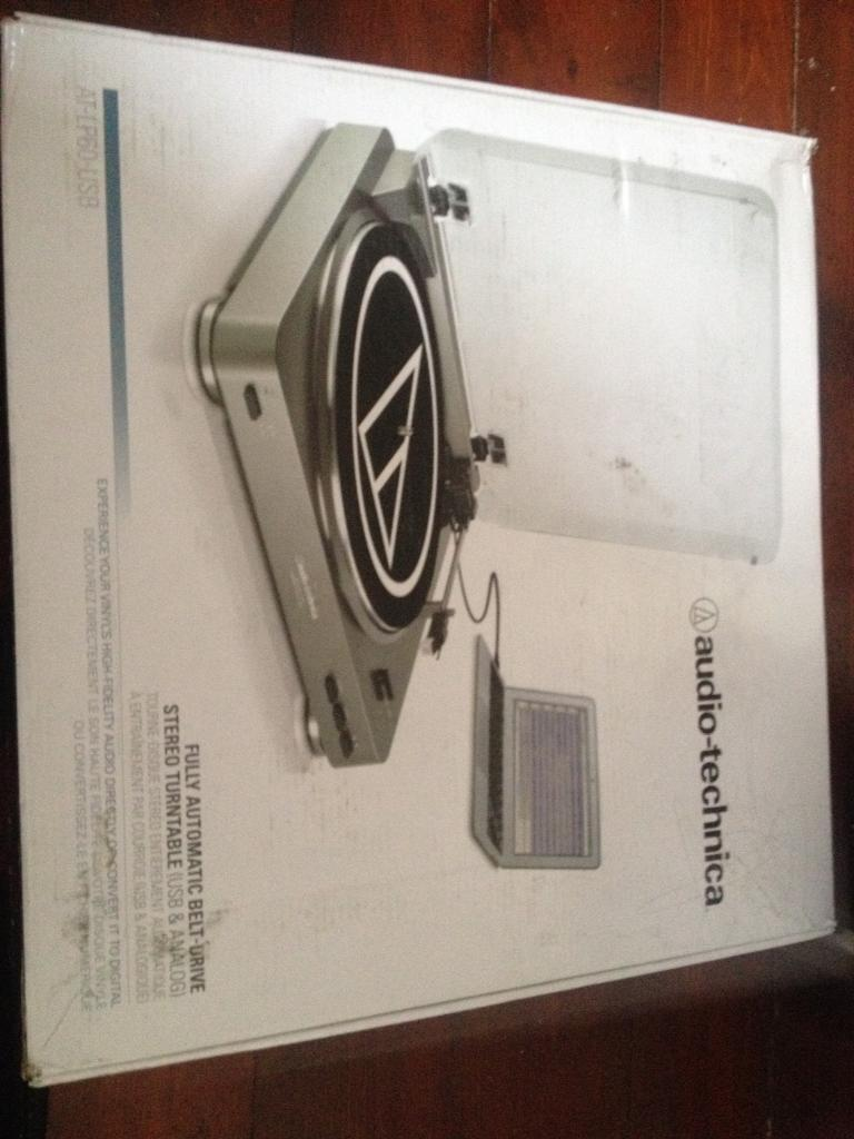 Audio Technica At Lp60 Usb Turntable In Bilborough Fully Automatic Belt Drive Stereo