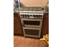 NEW WORLD GAS DOUBLE OVEN COOKER