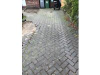 Block paving over 400 bricks drive path patio driveway