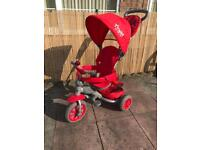LITTLE TIGER 4 IN 1 KIDS TRIKE TRICYCLE