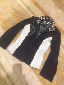 St.Martin Scandanavian Design Winter Coat lovely feminine padded jacket designer ski wear size small
