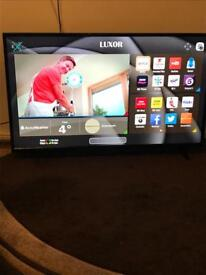 New without box Luxor 50 Inch Full HD, Freeview HD, Built Wifi