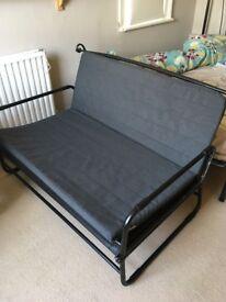 IKEA Sofa-bed (Hammarn) grey/black - excellent condition