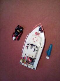 PLAYMOBIL Coast Guard Boat with Motor