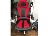 Console/desk chair
