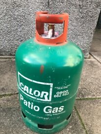 Calor patio gas bottle