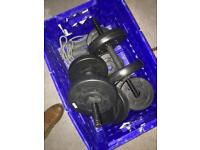 Assorted Dumbells and Weights