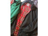 2 Harrington jackets size S
