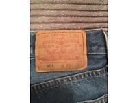 Genuine Levi 501 jeans