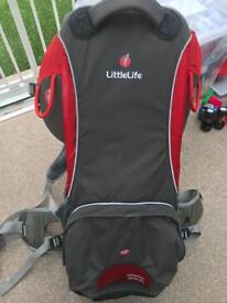 Littlelife cross country s2 baby/ child carrier