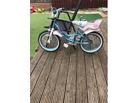 "Little girls 16""bike"