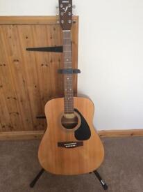 Yamaha Guitar with Accessories