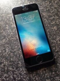 iPhone SE 32GB Space Gray Unlocked to all sites. Good condition. Mirror screen scratches