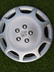 Peugeot 806 15 inch wheel trims, will fit other models as well