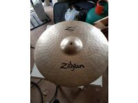 "19"" Zildjian Z3 Rock Crash - £100"