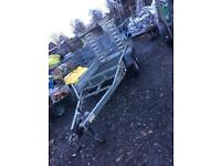 Plant mini digger trailer