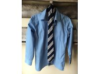 West Exe Uniform Girls Blue Shirt