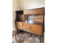 Original mid century vintage retro sideboard / cabinet good upcycle project