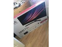 """LG 55"""" ultra HD TV - brand new in box and comes with wall mount equipment!"""