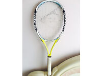 A tennis racket at £10 only, iv got some other quality rackets too, ring for details