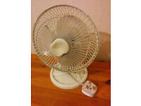 Small Desktop Desk Table Fan Air Cooller