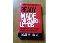 NEW book; job search letters