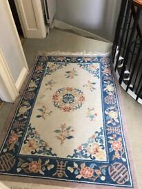 Chinese pattern rug