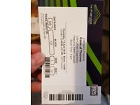 Live Concert Experience Game of Thrones Tickets - SWAP 2 x Tickets 14th June for 27th May
