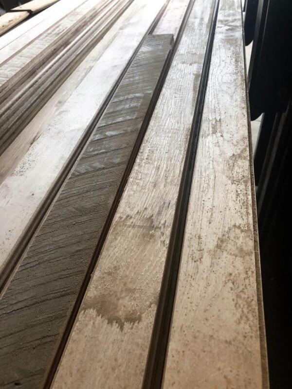 Reclaimed Mix Ready to Ship! T&G 152 Sq. Ft. Solid wood flooring